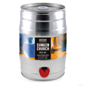 – PRE-ORDER – Sunken Church – 5 Litre Mini Keg